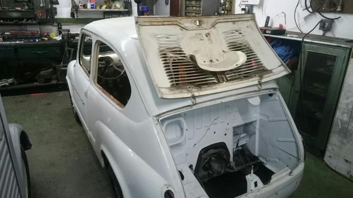 chapa y pintura coches clásicos 5